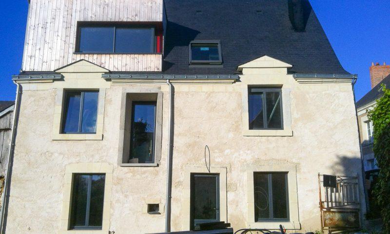 Rénovation maison du XVe – Corzé (49)