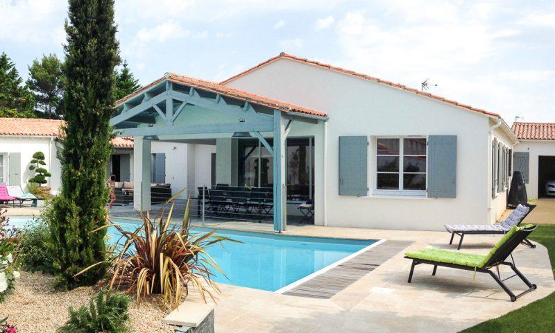 Rénovation d'une maison – La Couarde-sur-Mer (17)