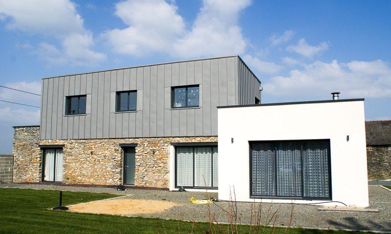 Rénovation et surélévation d'une habitation – Montreuil-Juigné (49)