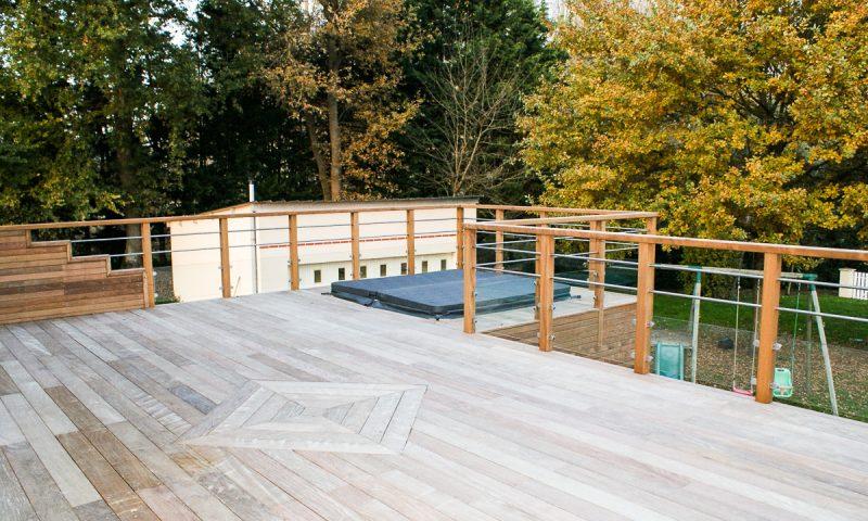 Extension terrasse et spa – Montreuil sur le Loir (49)