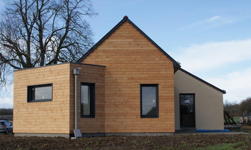 Extension bois et rénovation – Baugé (49)