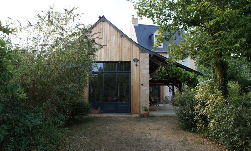 Extension bois et rénovation – Daumeray (49)