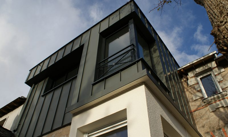 Surélévation d'une maison – Seiches sur le Loir (49)