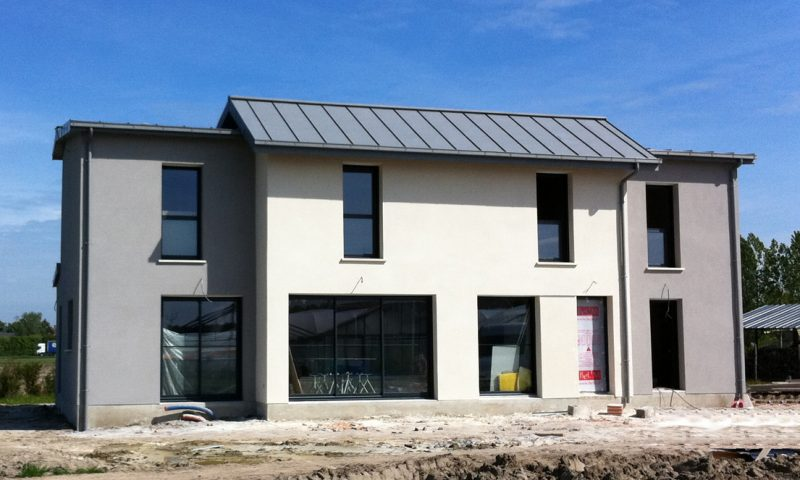 Construction d'une maison contemporaine – Beaufort en Vallée (49)