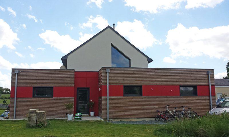 Construction d'une maison contemporaine – Notre Dame d'Allençon (49)