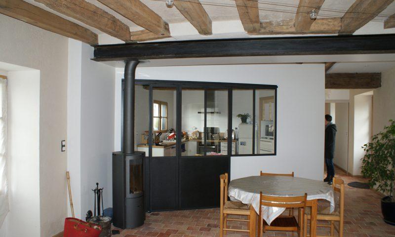 Réaménagement intérieur d'une habitation – Villevêque (49)