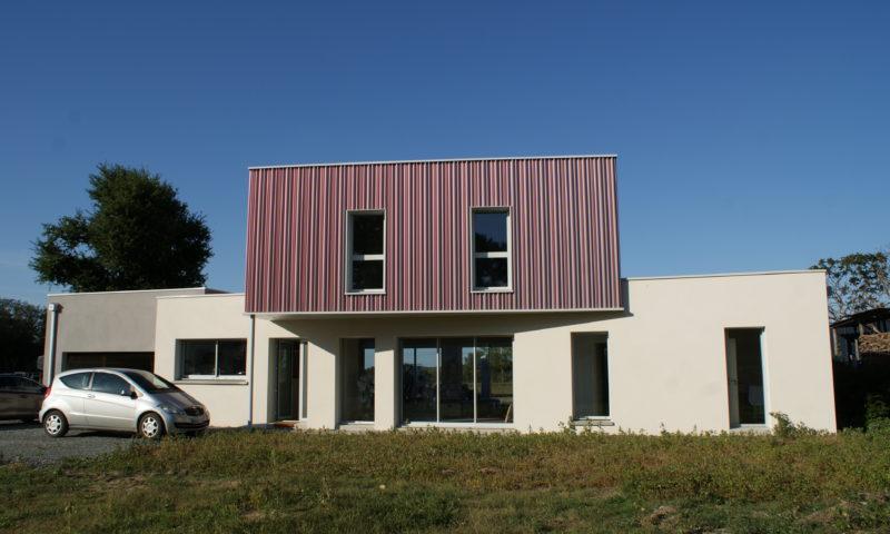 Construction d'une maison neuve à Beaufort en vallée (49).